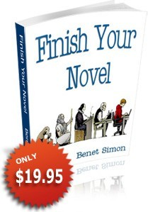 Ebook cover: Finish Your Novel