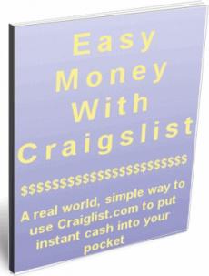 Ebook cover: Make Easy Money On Craigslist