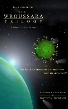 Ebook cover: The Wroussara Trilogy - Vol 1 - Star Hopper