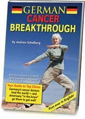Ebook cover: German Cancer Breakthrough