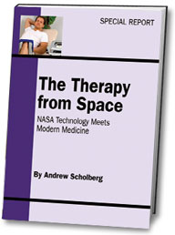 Ebook cover: The Therapy from Space
