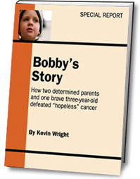 Ebook cover: Bobby's Story