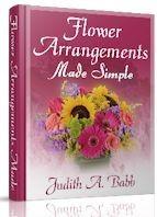 Ebook cover: Flower Arrangements Made Simple