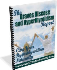 Ebook cover: The Graves Disease and Hypethyroidism Report