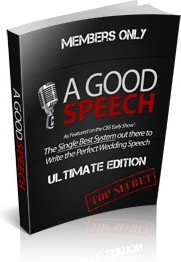 Ebook cover: A Good Speech Best Man Guide