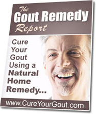 Ebook cover: Gout Remedy Report
