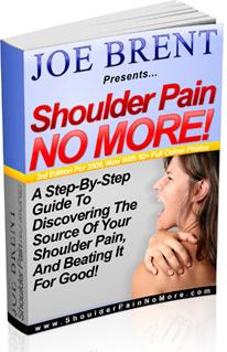 Ebook cover: Shoulder Pain NO MORE