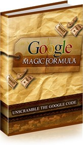 Ebook cover: Google Magic Formula