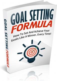 Ebook cover: Goal Setting Formula