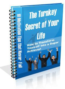Ebook cover: The Turnkey Secret of Your Life