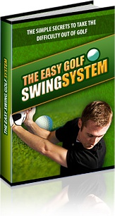 Ebook cover: The Easy Golf Swing System