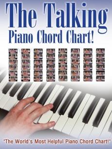 Ebook cover: Talking Piano Chord Chart
