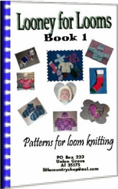 Ebook cover: Looney for Looms