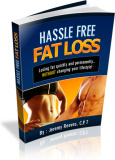 Ebook cover: Hassle Free Fat Loss