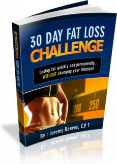 Ebook cover: 30 Day Challenge