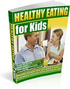 Ebook cover: Healthy Eating for Kids