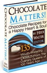 Ebook cover: Chocolate Matters