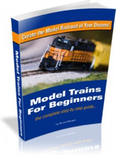 Ebook cover: Model Trains For Beginners