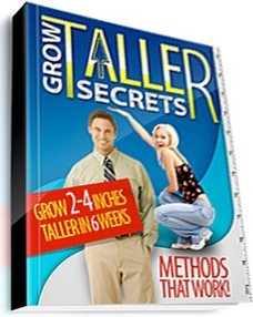 Ebook cover: Grow Taller Secrets