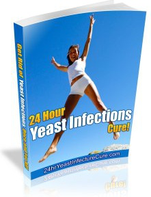 Ebook cover: 24 Hour Yeast Infection Cure