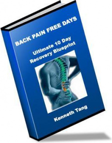 Ebook cover: Back Pain Free Days