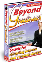 Ebook cover: Beyond Greatness
