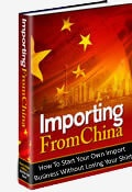 Ebook cover: Importing from China