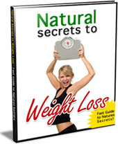 Ebook cover: Natural Secrets Weight Loss
