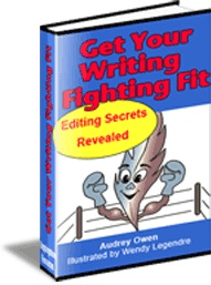 Ebook cover: Get Your Writing Fighting Fit