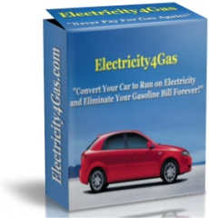 Ebook cover: Convert Your Car to Run on Electricity and Eliminate Your Gasoline Bill Forever!