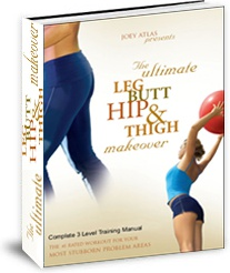 Ebook cover: The Ultimate Leg Butt Hip and Thigh Makeover