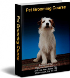 Ebook cover: Pet Grooming Course