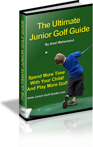 Ebook cover: Ultimate Junior Golf Guide
