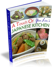 Ebook cover: A Touch Of YouLin's Japanese Kitchen