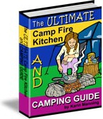 Ebook cover: The Ultimate Campfire Kitchen and Camping Guide