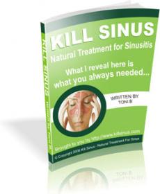 Ebook cover: Kill Sinus