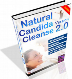 Ebook cover: Natural Candida Cleanse