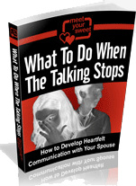 Ebook cover: What To Do When The Talking Stops