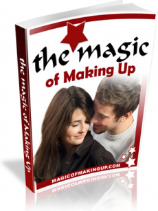 Ebook cover: The Magic Of Making Up