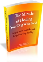 Ebook cover: The Miracle of Healing Your Dog With Food