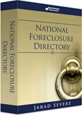 Ebook cover: The National Foreclosure Directory