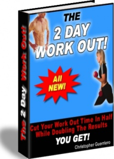 Ebook cover: The 2 Day Workout
