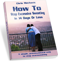 Ebook cover: How To Stop Excessive Sweating In 14 Days Or Less