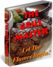 Ebook cover: The Grill Master