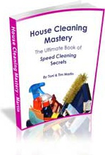Ebook cover: House Cleaning Mastery