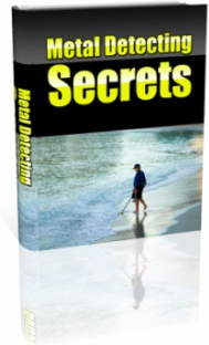 Ebook cover: Metal Detecting Secrets