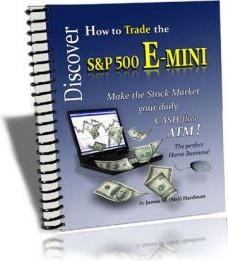 Ebook cover: Discover How To Trade E-mini