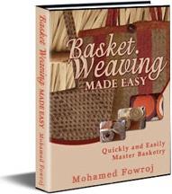 Ebook cover: Basket Weaving Made Easy