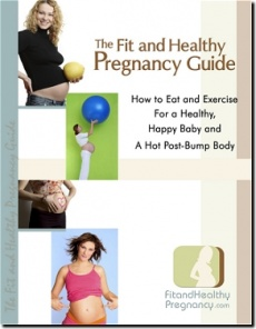 Ebook cover: The Fit and Health Pregnancy