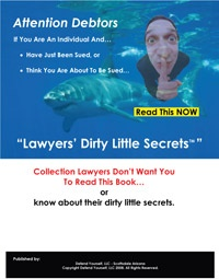 Ebook cover: Lawyers Dirty Little Secrets
